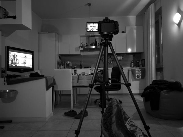 Indoors  Home Interior Tripod Archival Filming Domestic Room No People Home Video Camera Film Industry Day Junior High