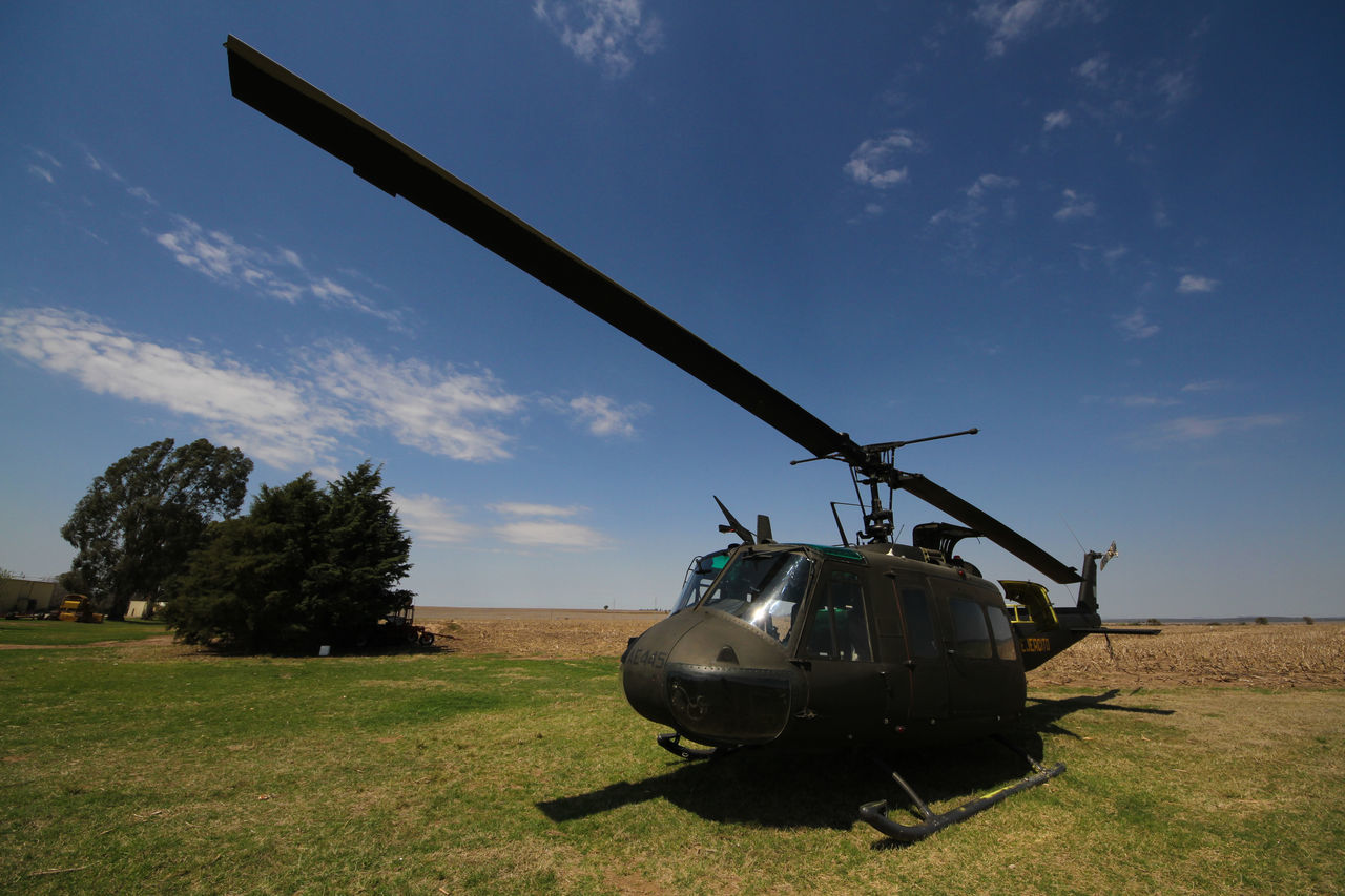 Army Helicopter Air Force Air Vehicle Airplane Army Army Life Day Grass Green Color Helicopter Helicopter Military Mode Of Transport Nature No People Outdoors Sky Transportation Tree War