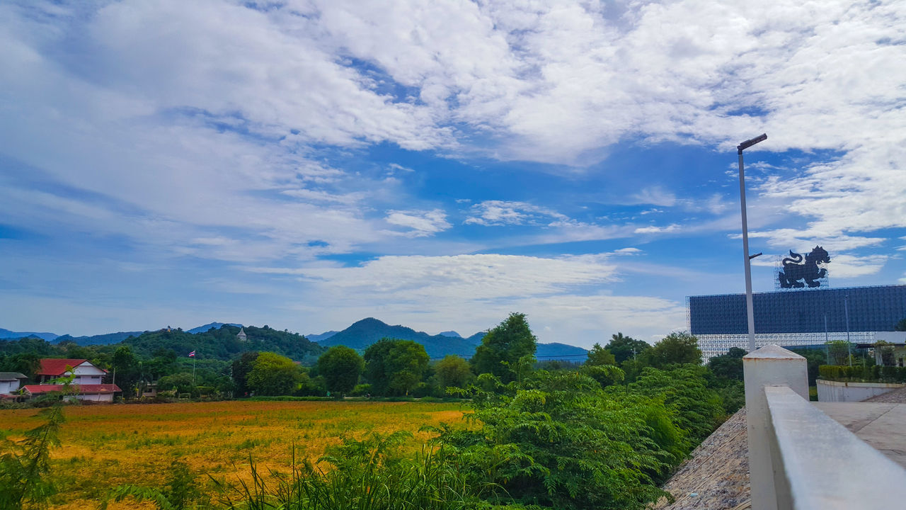 sky, cloud - sky, architecture, built structure, day, tree, outdoors, no people, building exterior, nature, beauty in nature