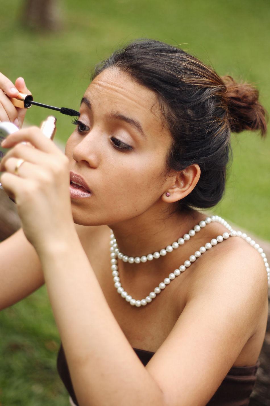 Beautiful stock photos of make-up, Applying, Attractive, Bead, Beautiful