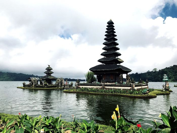 Ulandanutemple Temple Bali INDONESIA Water Sky Travel Outdoors Travel Destinations Photography