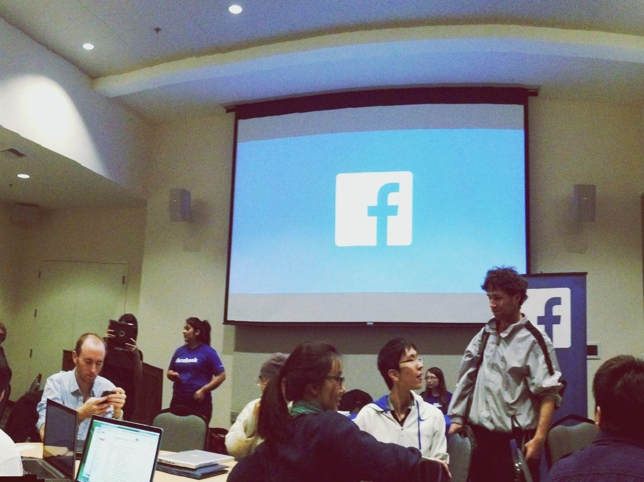 Facebook event last night at Ucdavis