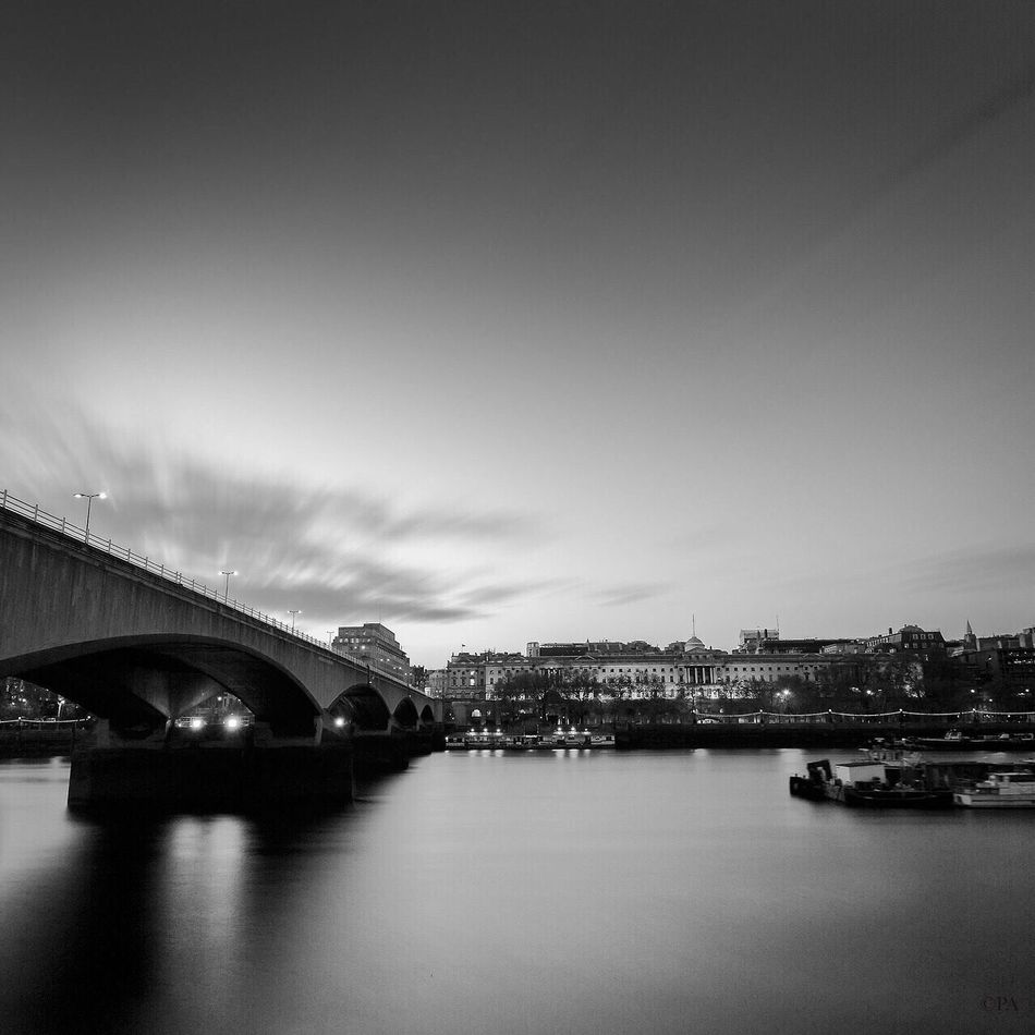 Postcard from London City River Thamesriver Cityscape Day Monotone Bnw_collection Travel Destinations Fine Art Photograhy Bnw London European Architecture City Landscape Photooftheday Bnw_london Architecture