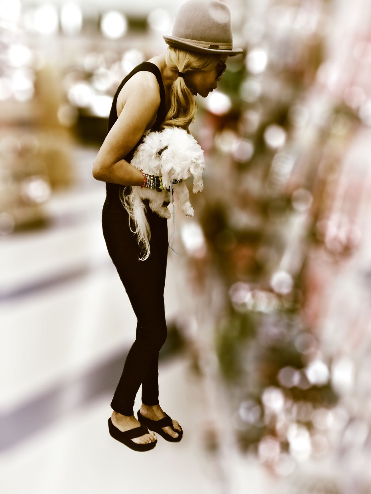 Surrealism Bokeh Street Photography People