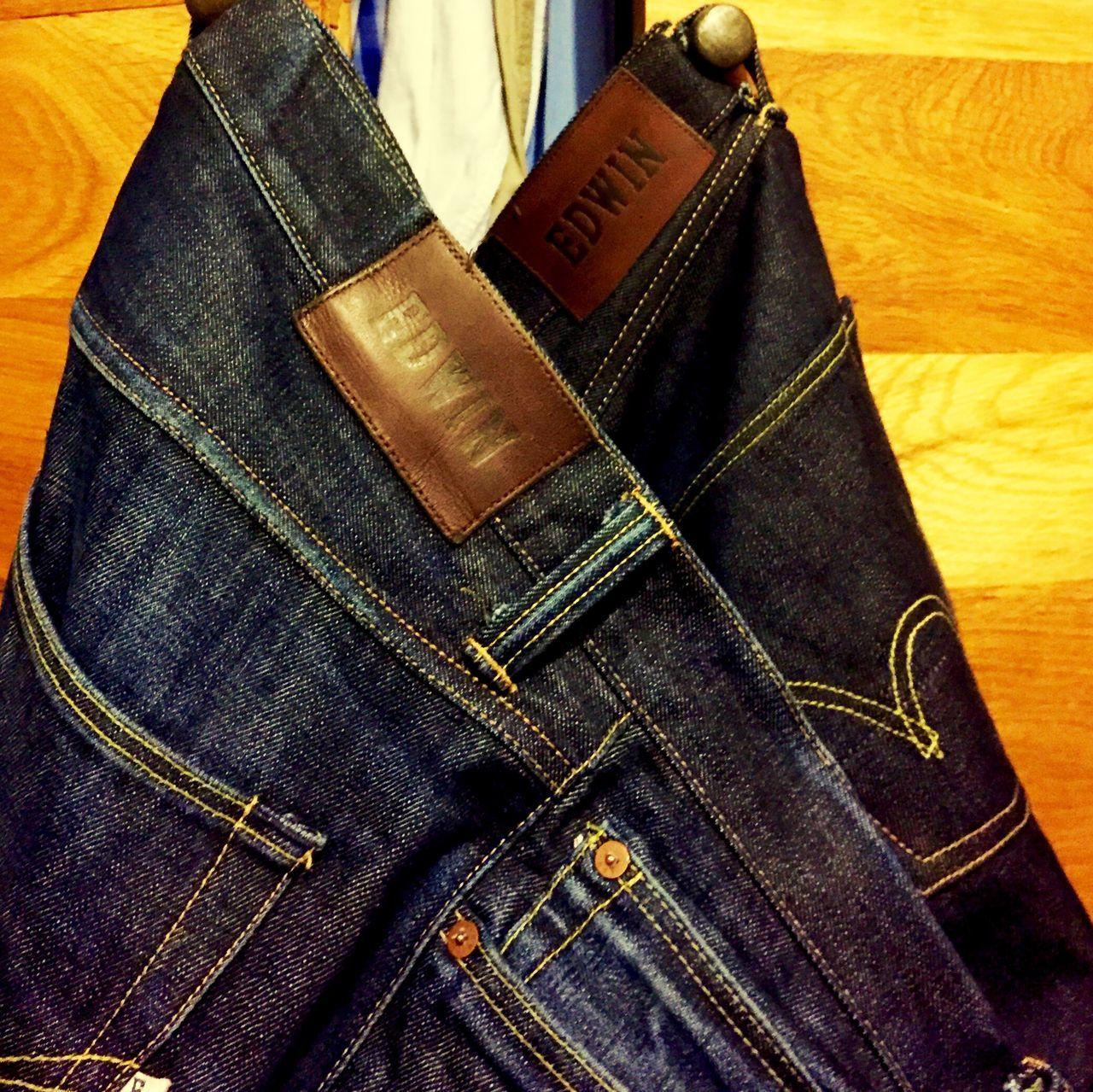 Edwin Raw Rawdenim Selvage Denim Jeans Usedjeans
