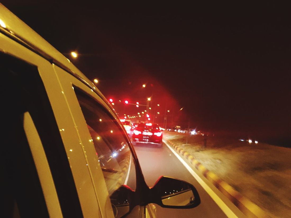 Memories That I Loved Than My Life Memories ❤ Traveling Nightphotography EyeEm Gallery Silent Night Nightshot Car Light And Shadow Night Lights Roadtrip Streetlamp Night View Lamp Happiness Finding Way Back Home Clear Sky Sky Busy Life Working Life Notimetosleep Focused