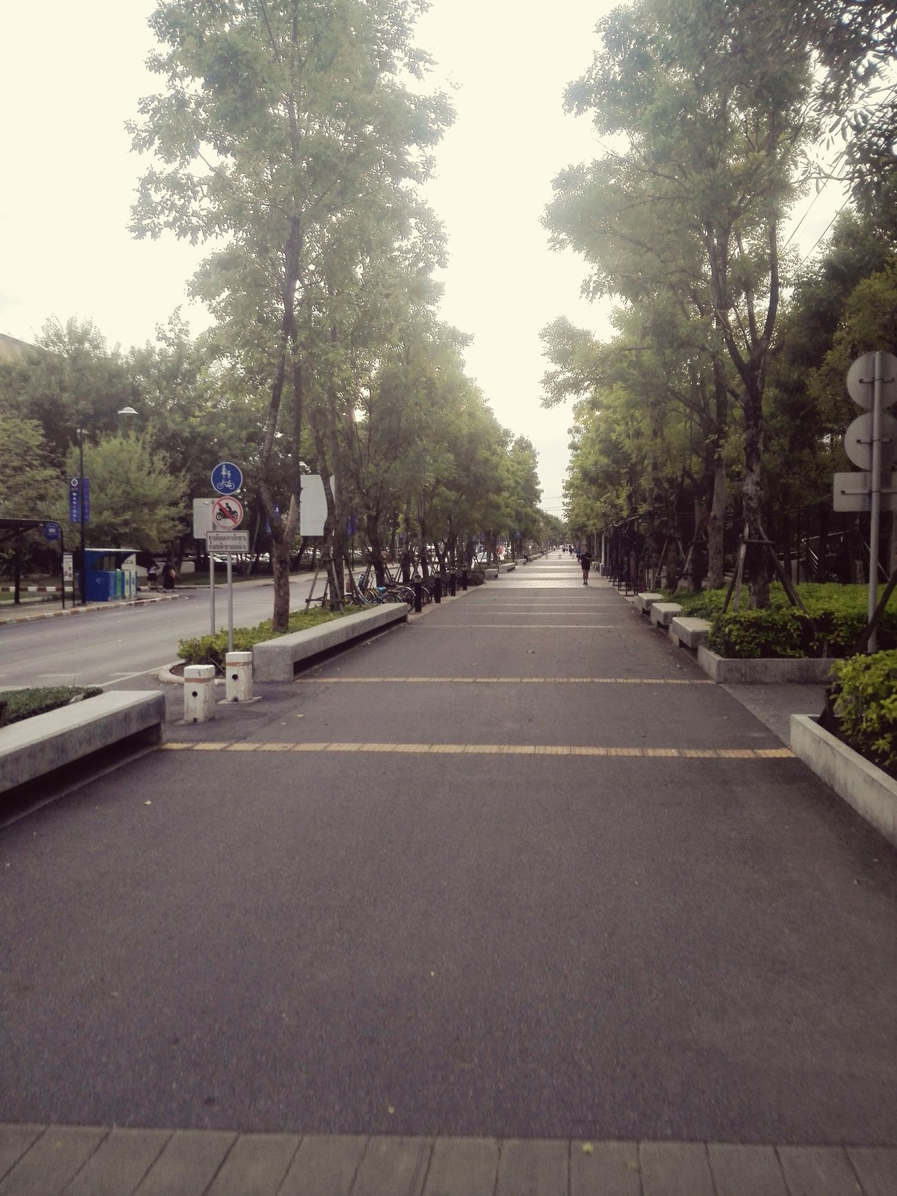 Vanishing Point Mahidol University Salaya First Eyeem Photo