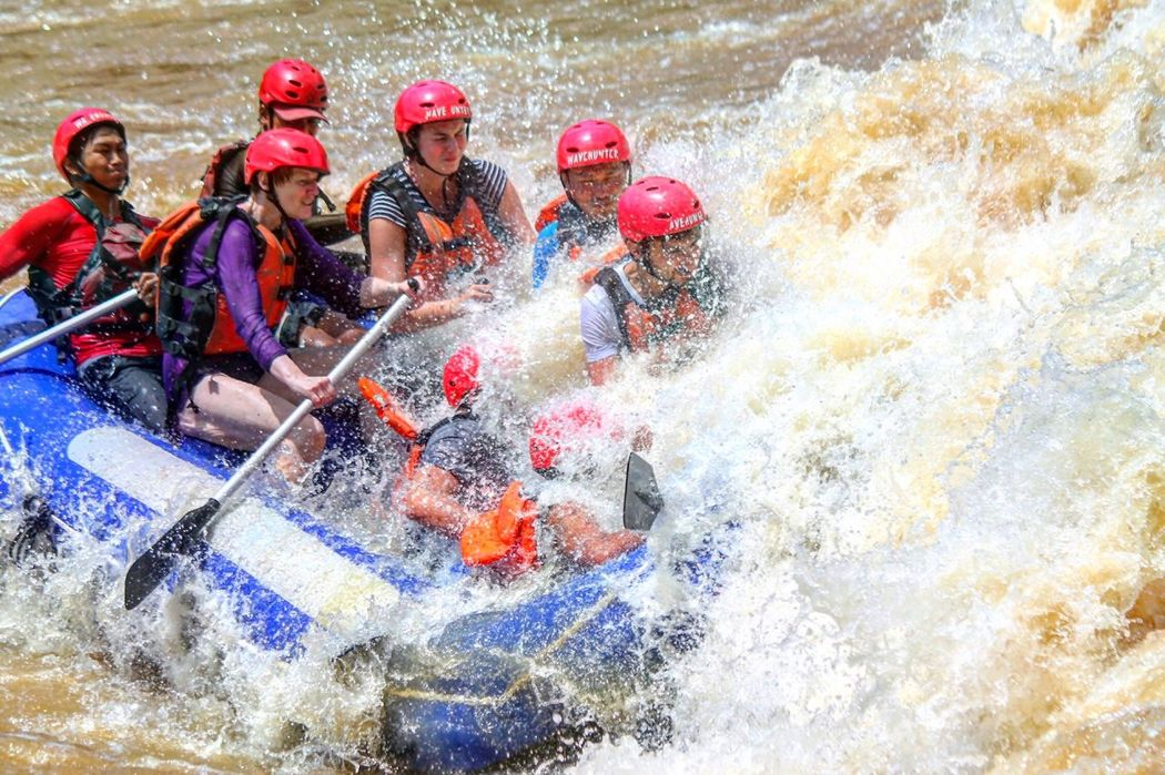 White water rafting Excitement Adventure Rafting bigwave Happiness Wave Bigwaves TanakwaguBolotikon