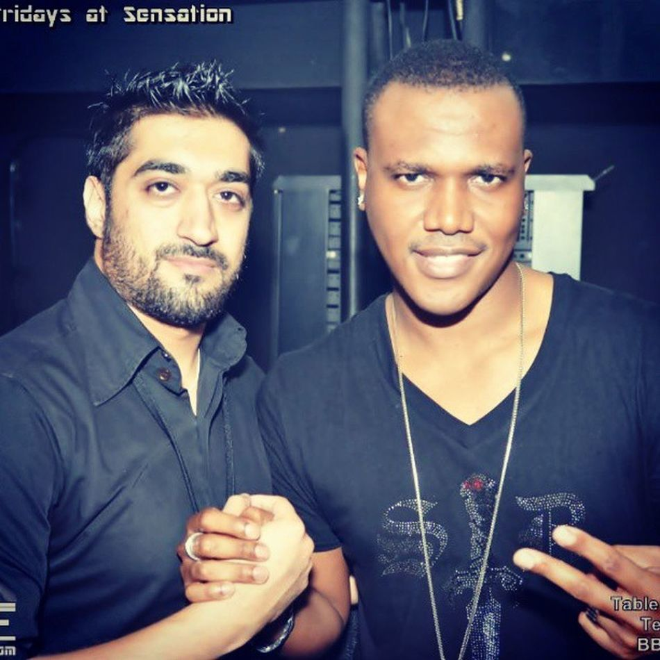 @SWAGE_Team with Artist Kevin Lyttle at Sensation Club Dubai DubaiNights Sensation KevinLyttle Artist Singer Jamaica Reggai TurnMeOn Swag Music