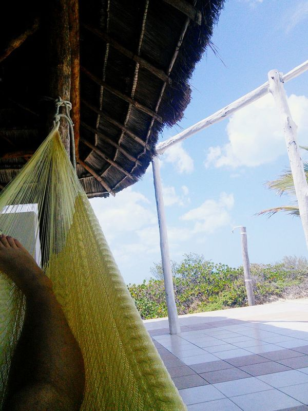 Hängematte! Chilling Yucatan Mexico