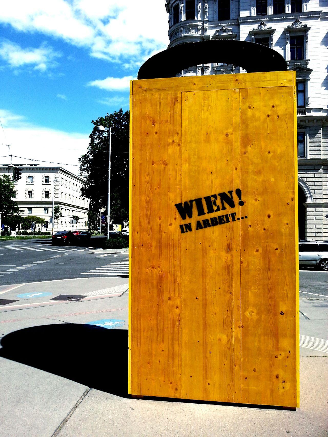 Wien In Arbeit Vienna Streetart Contrast Booth
