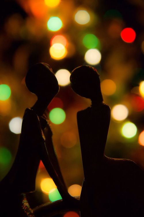Night Lifestyles Nightlife People Human Body Part Kiss Light And Shadow Colors MerryChristmas Sony NEX