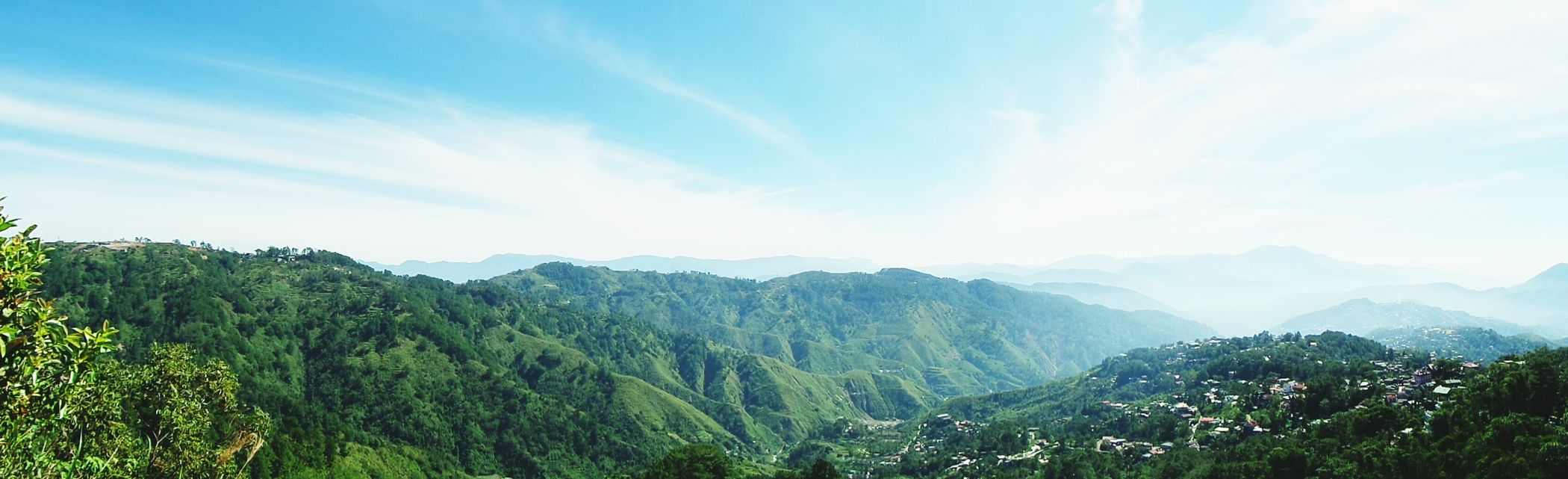 Mines View Park in Baguio City Philiplines Eyeem Philippines Mountains Capture The Moment From My Point Of View Fog Blue Wave Rhenella