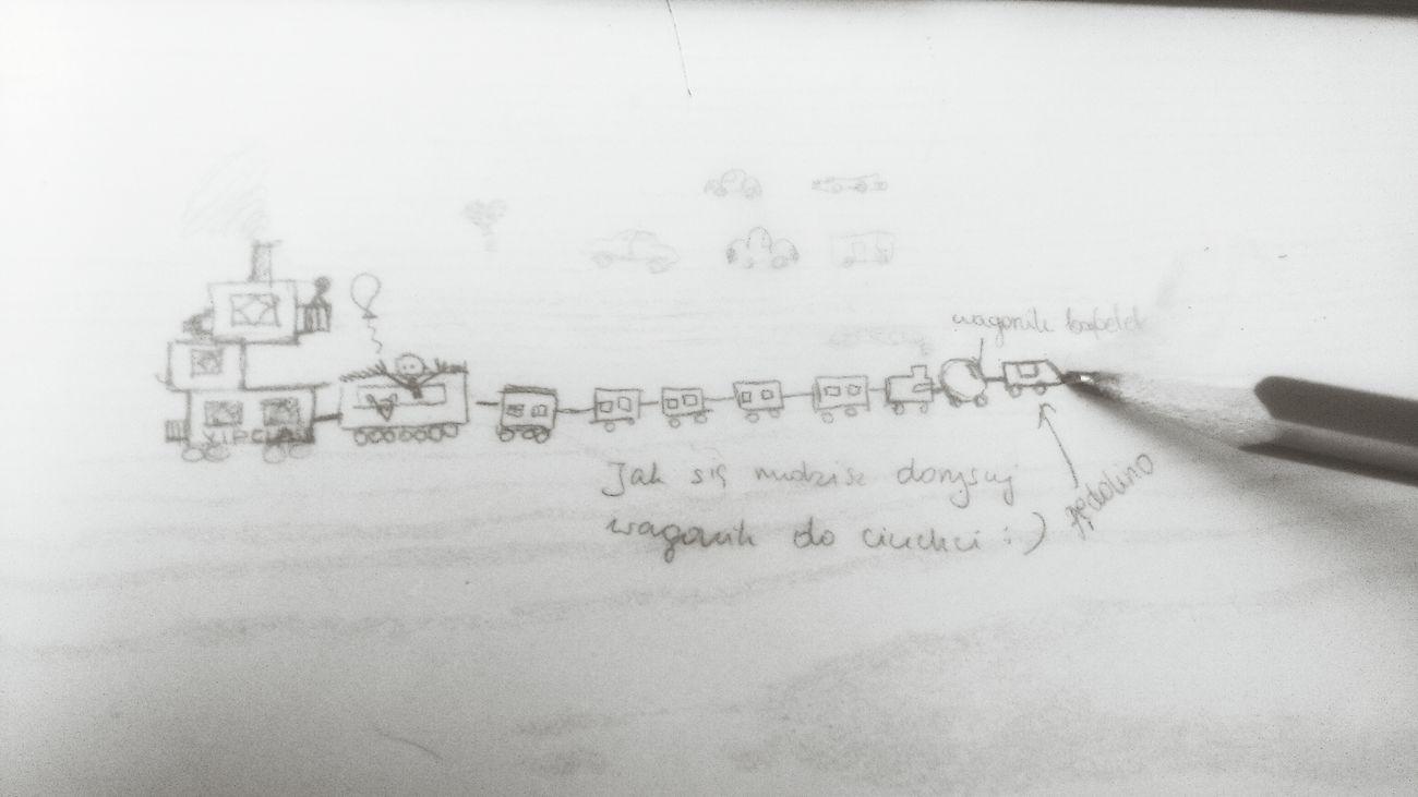 School Desk Trains