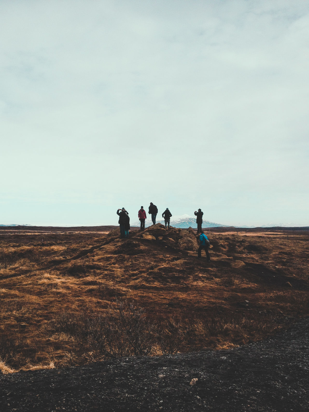 Beautiful stock photos of iceland, Cloud - Sky, Day, Field, Friendship