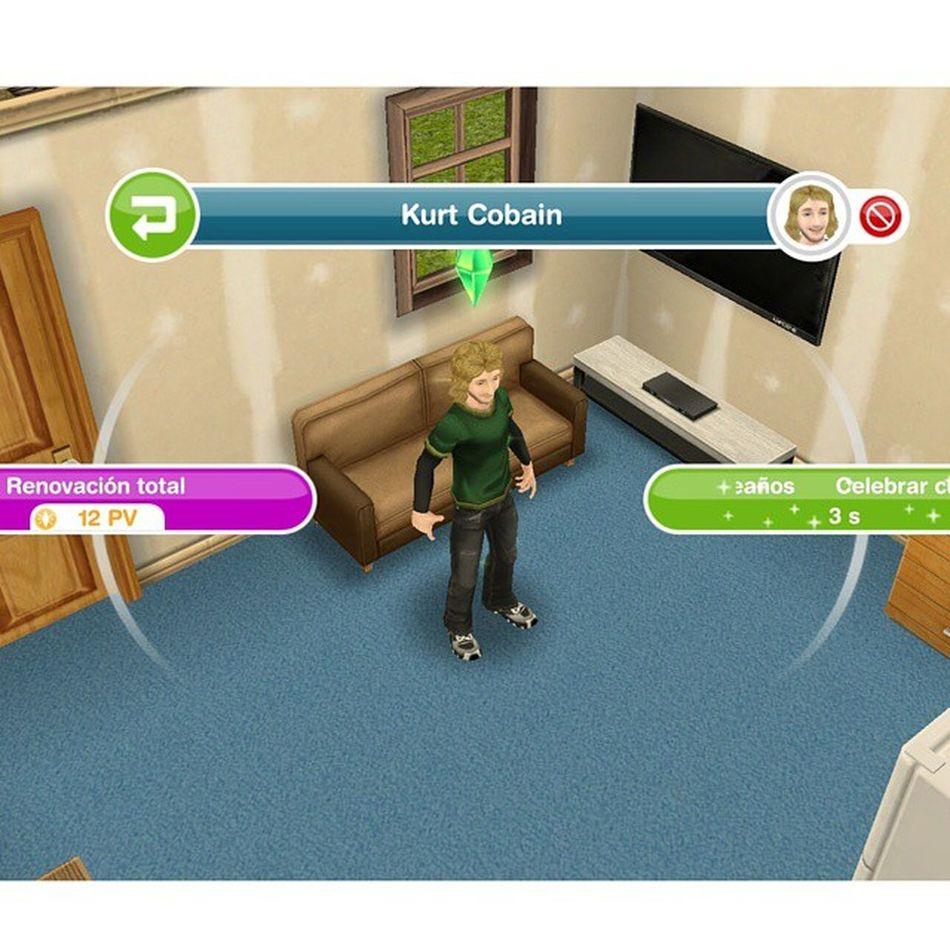 Sims 😂😆 Kurtcobain