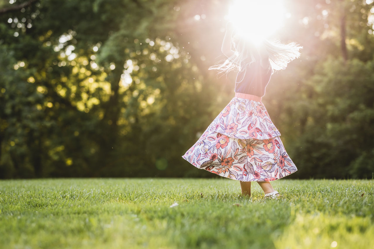 Child Childhood Children Girl Kids Being Kids Nature Outdoors Play Sun Twirl Live For The Story