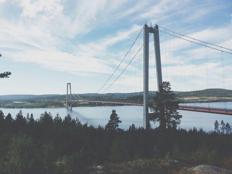 Swedish bridges. Landscape Vscocam Travel Sweden