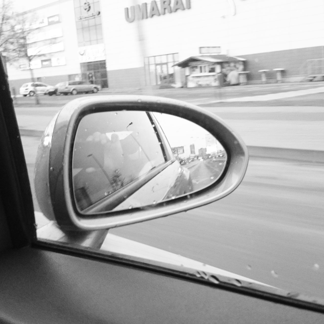 Transportation Reflection Car Travel City Vehicle Mirror Side-view Mirror Land Vehicle Day No People Road Road Sign Outdoors Close-up Ontheroad Ontheway Mirror Cars