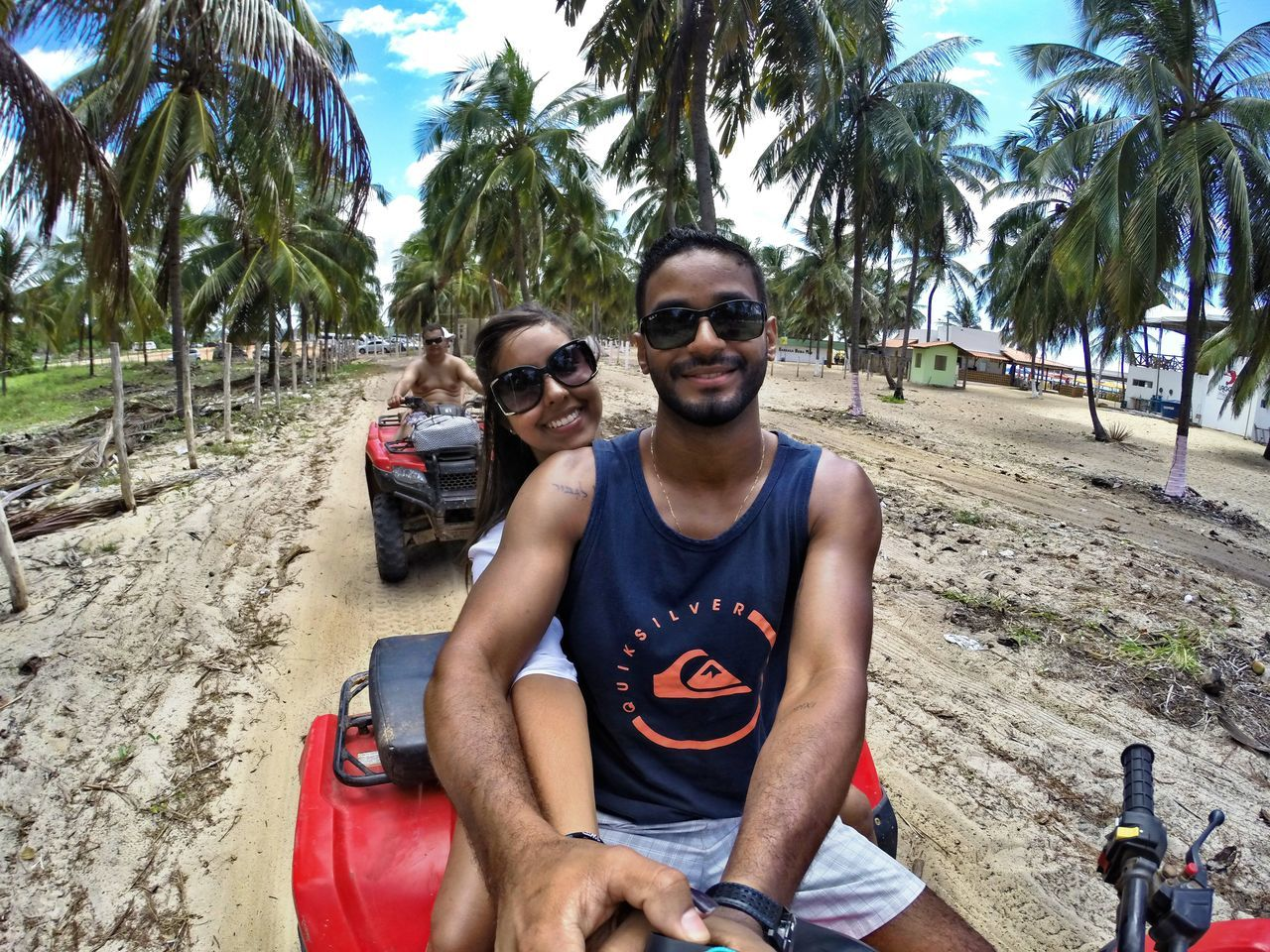 Praia do Gunga Alagoas/ Maceió Alagoas Quadriciclo GoPro Hero3+ Gopro Férias PraiadoGunga Beach Praia