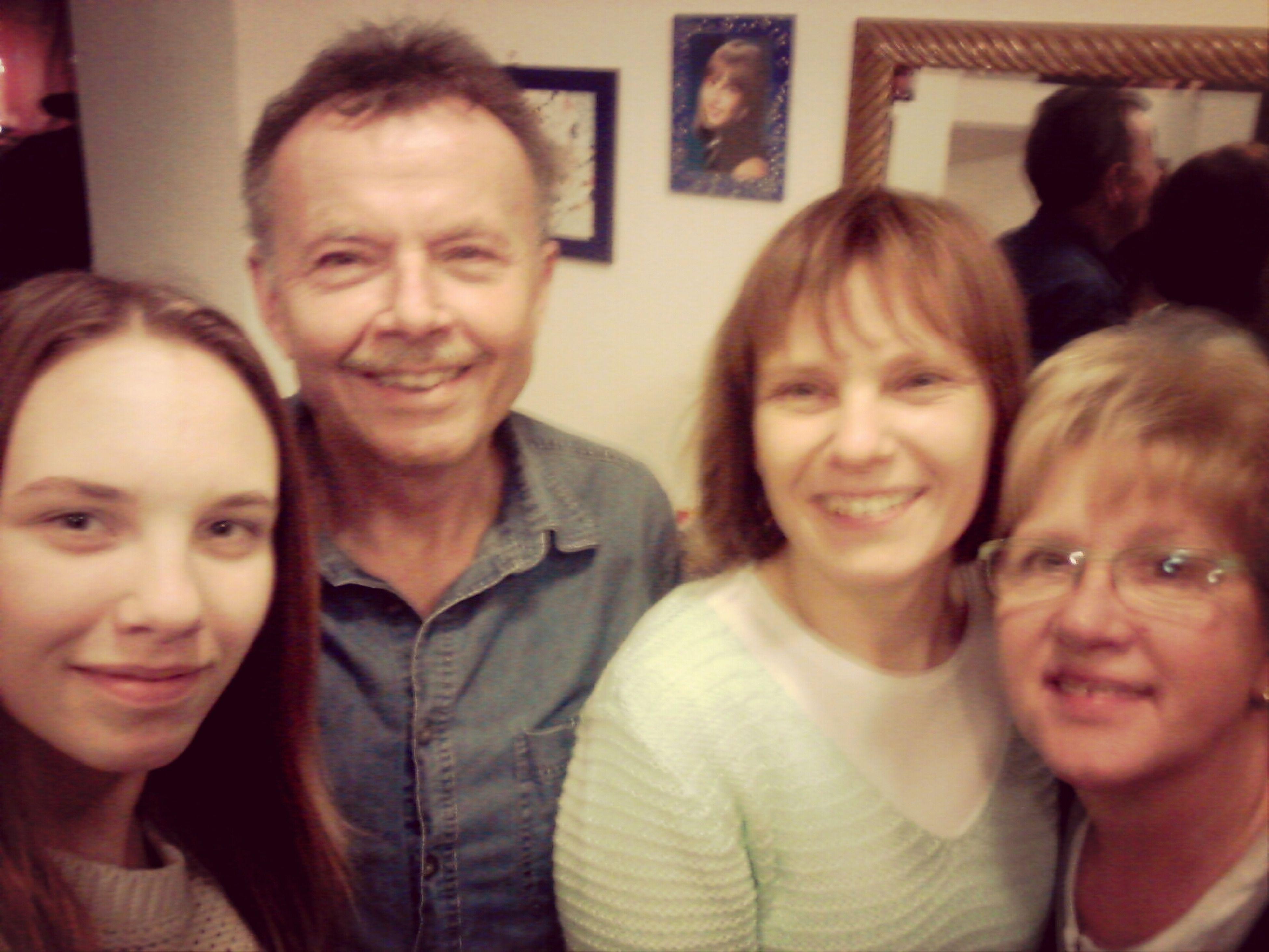 FAMILY <3 Grandma <3 Grandpa <3 Mom <3 and me ♡