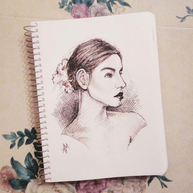 Quicksketch Drawing Illustration Pic Sketchbook Pen ColoredPencils