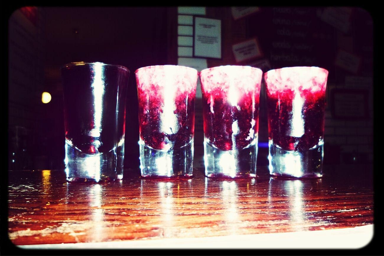 Za zdrowie pani mgr Asi! :) Cocktails