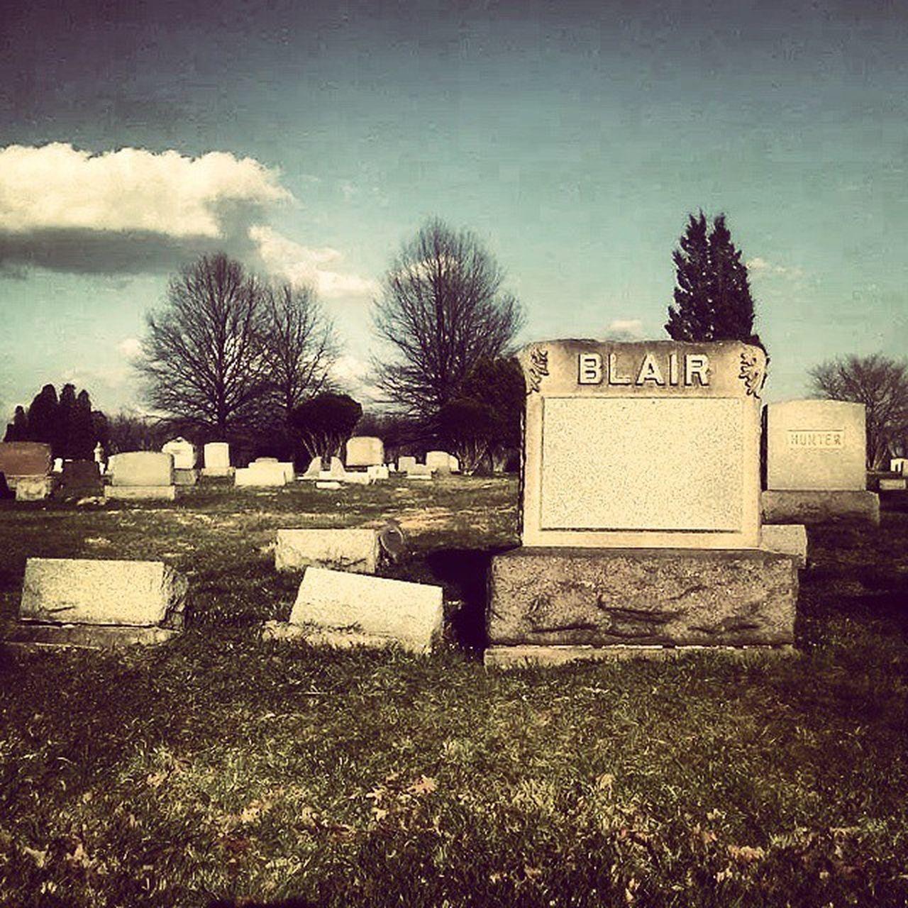 Cemetery EvansCity Nightofthelivingdead