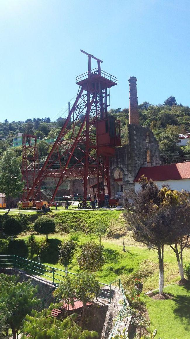 Pueblos Mágicos De México Real Del Monte Mina De Acosta Minería Mina