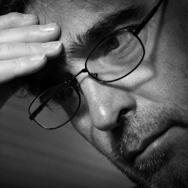 Close-up Eyeglasses  Person Human Face Blackandwhite Photography Black And White Collection  Blackandwhite Black And White Blackandwhitephotography Black And White Photography Black&white Black & White Self Portrait