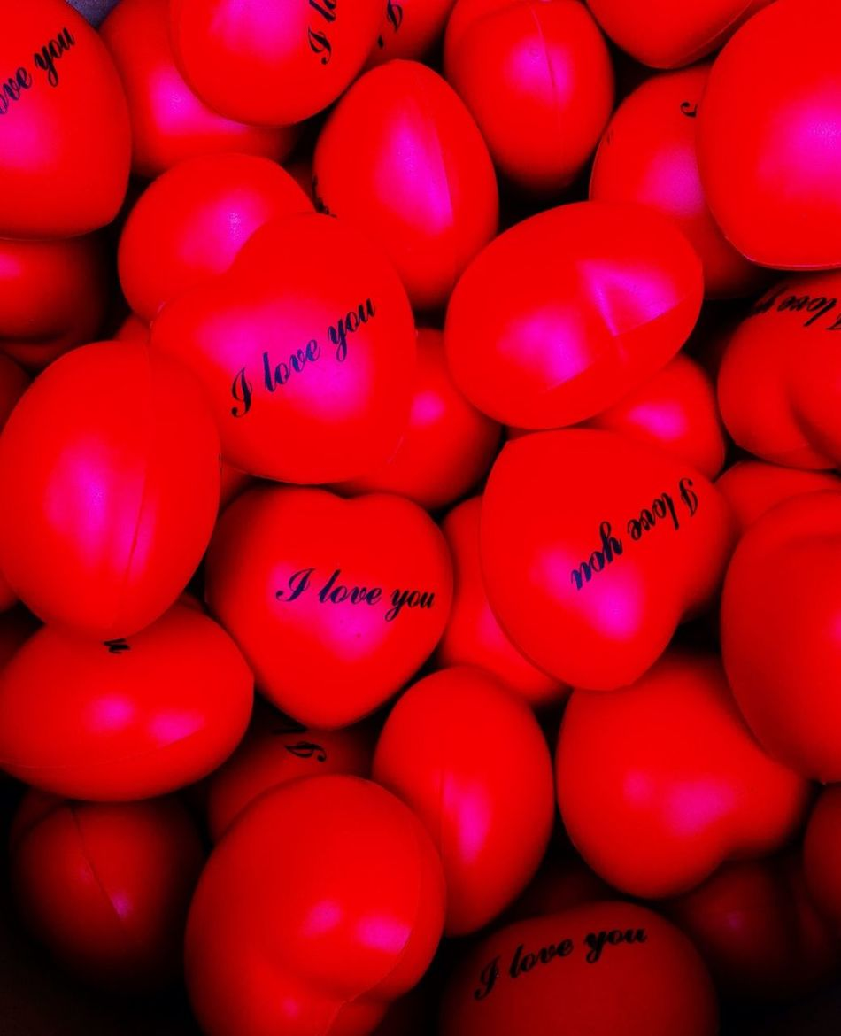 I Love U Lol♥ Red Only Heart ❤ Hello World