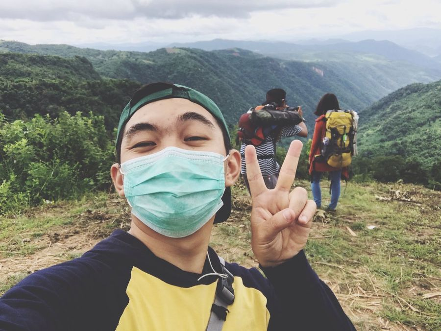 Mountain Nature Lifestyles Hikingadventures Human Hand Friends Camping Myanmar Pyinoolwin Detony