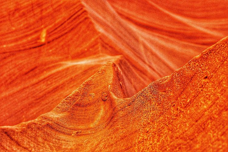 Geology Backgrounds Full Frame Textured  No People Pattern Nature Landscape Day Arid Climate Outdoors Beauty In Nature Close-up Antelope Canyon Orange Color Beauty In Nature AntelopeCanyon Antelope Antelop Canyon