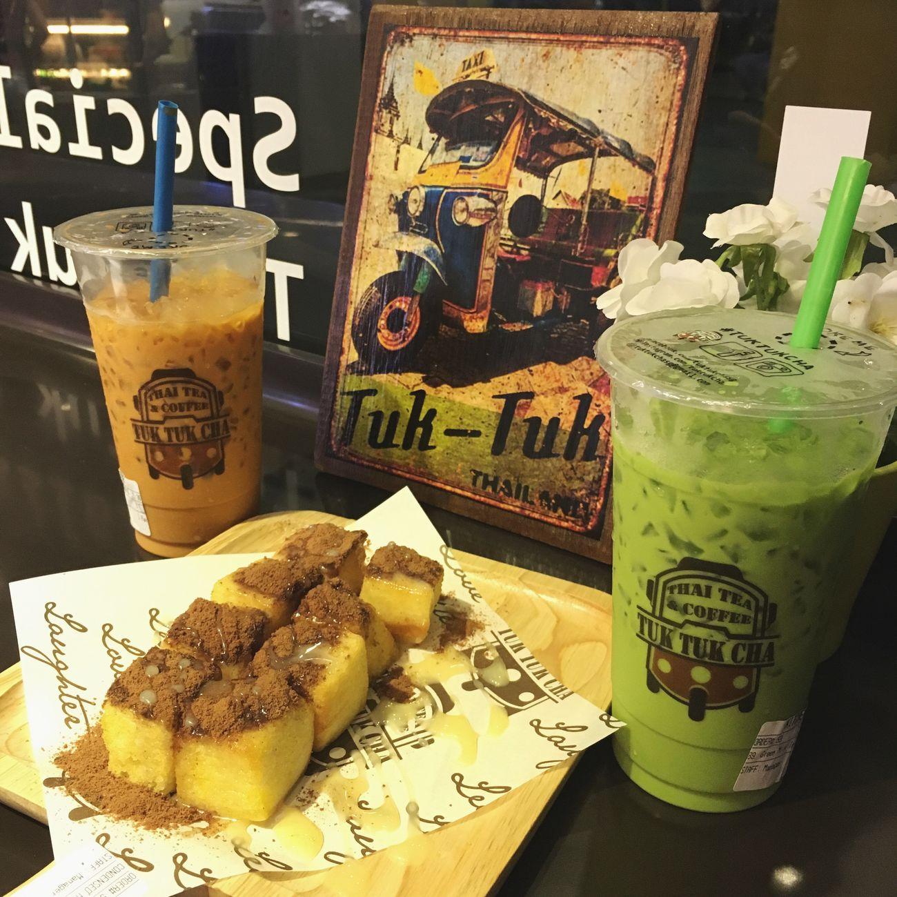 Things I Like Thai Iced Milk Tea Thai Iced Green Milk Tea Condensed Milk Toast With Milo Powder