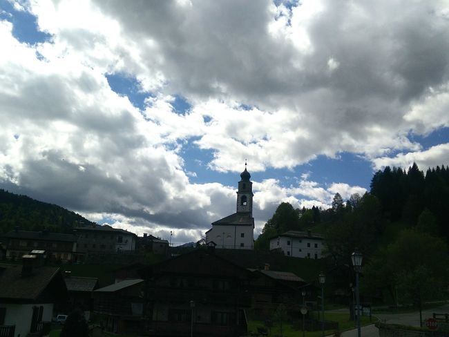 Clouds and sky Sauris Mountain View