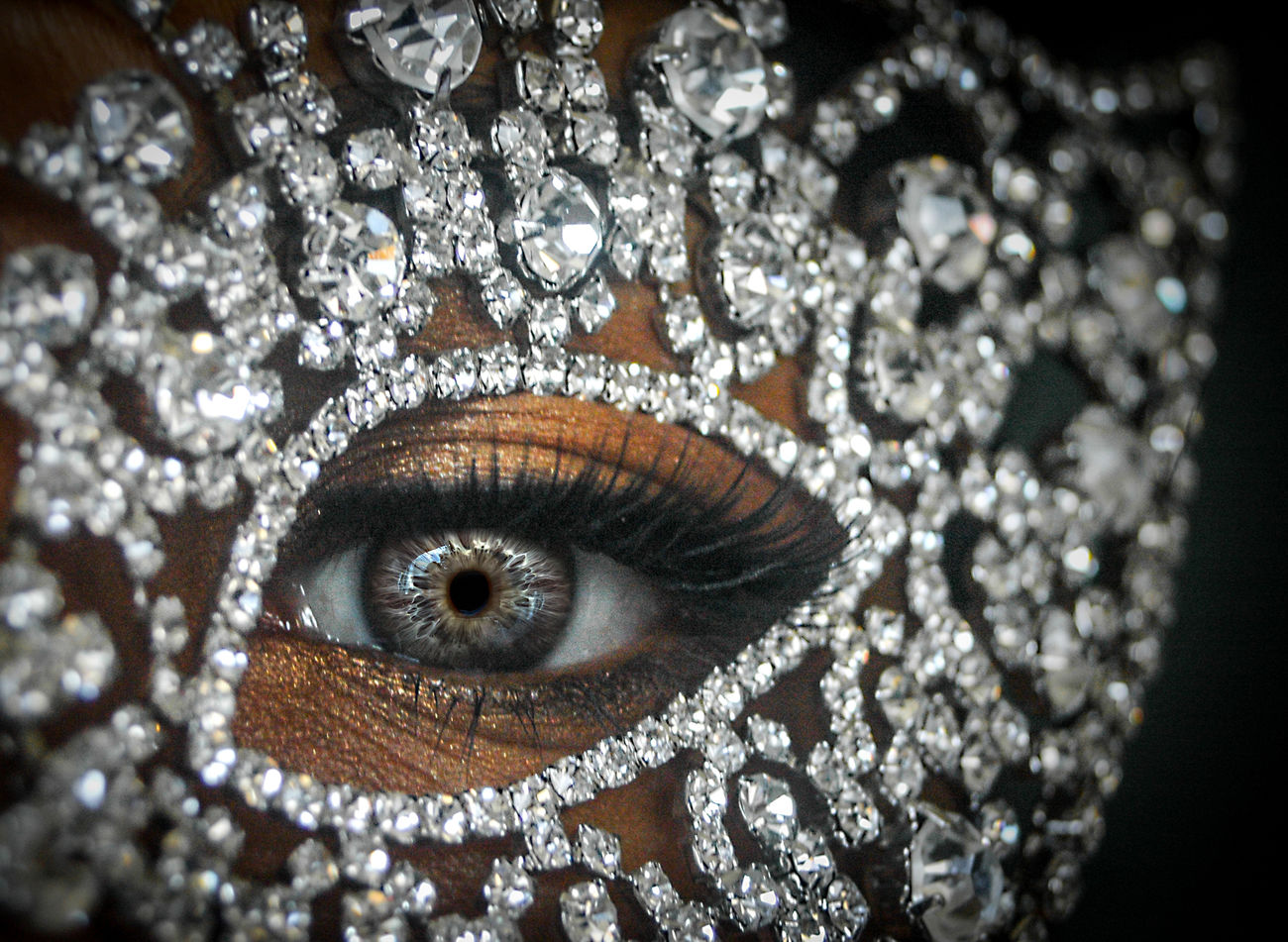 Mask Abundance Beauty Close-up Detail Diamond Diamonds Eye EyeEm Best Shots Eyes Full Frame Mask Masquerade The Portraitist - 20I6 EyeEm Awards