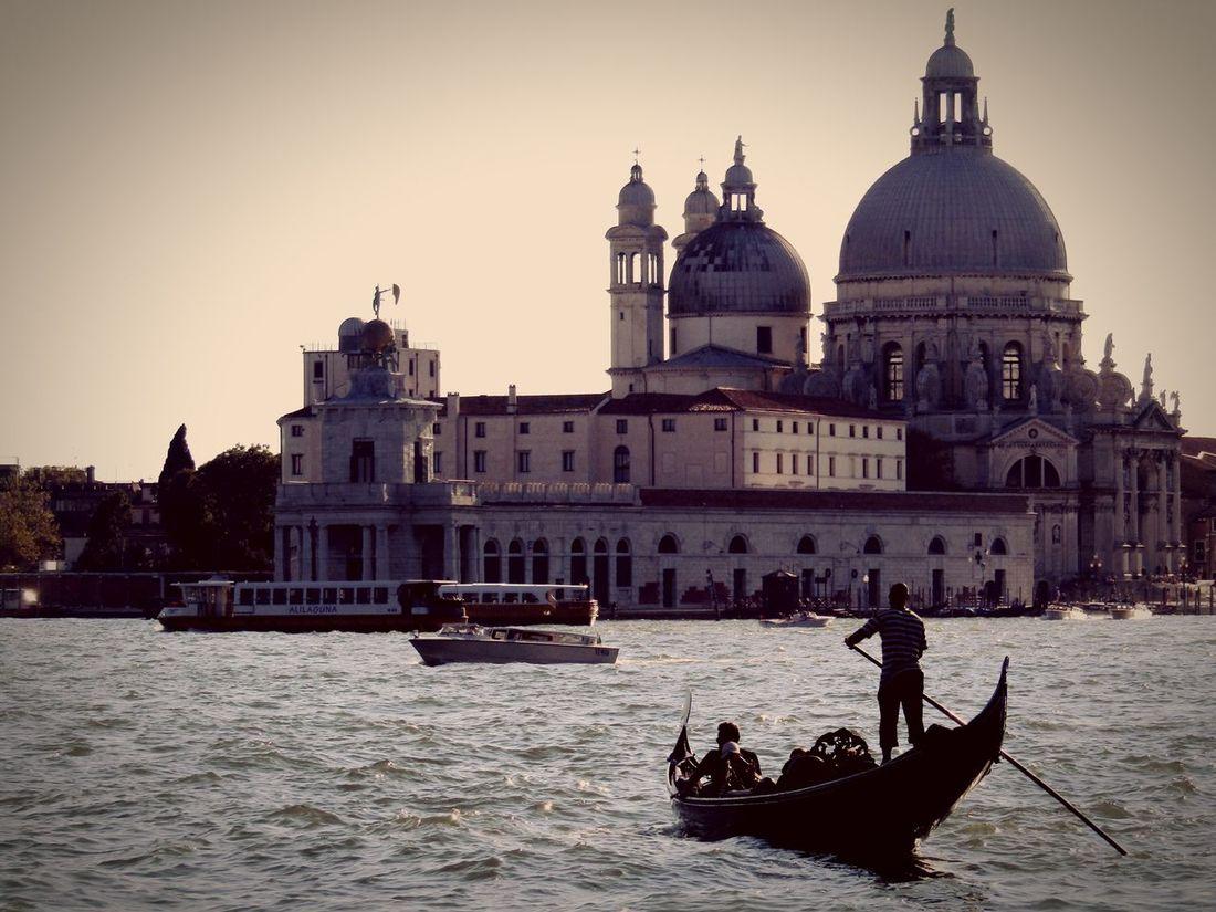 Basilica SantaMariadellaSalute Venice Venezia Venice, Italy Italy Italia Gondola Battle Of The Cities The Architect - 2017 EyeEm Awards