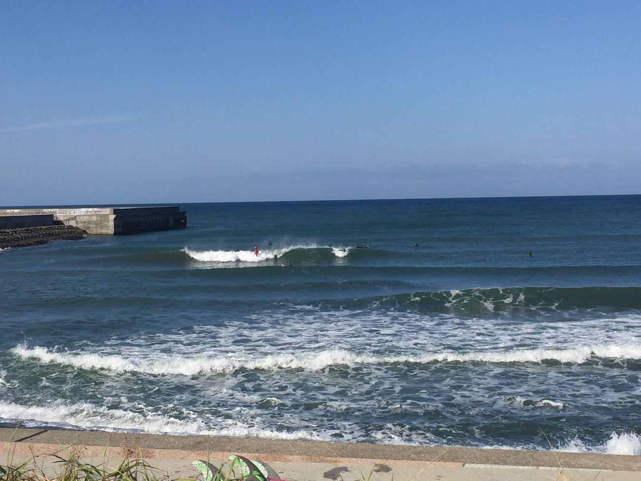 こないだの日本海。たくさんいいの乗れた 日本海 北海道 風が冷たい 楽しい Surfing