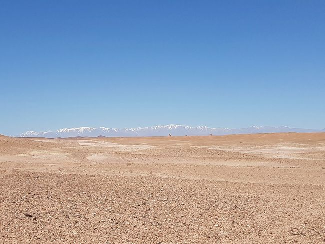 Sand Morocco Vacations Beauty In Nature Water No People Scenics Purity OutdoorsDay Desert Mountains