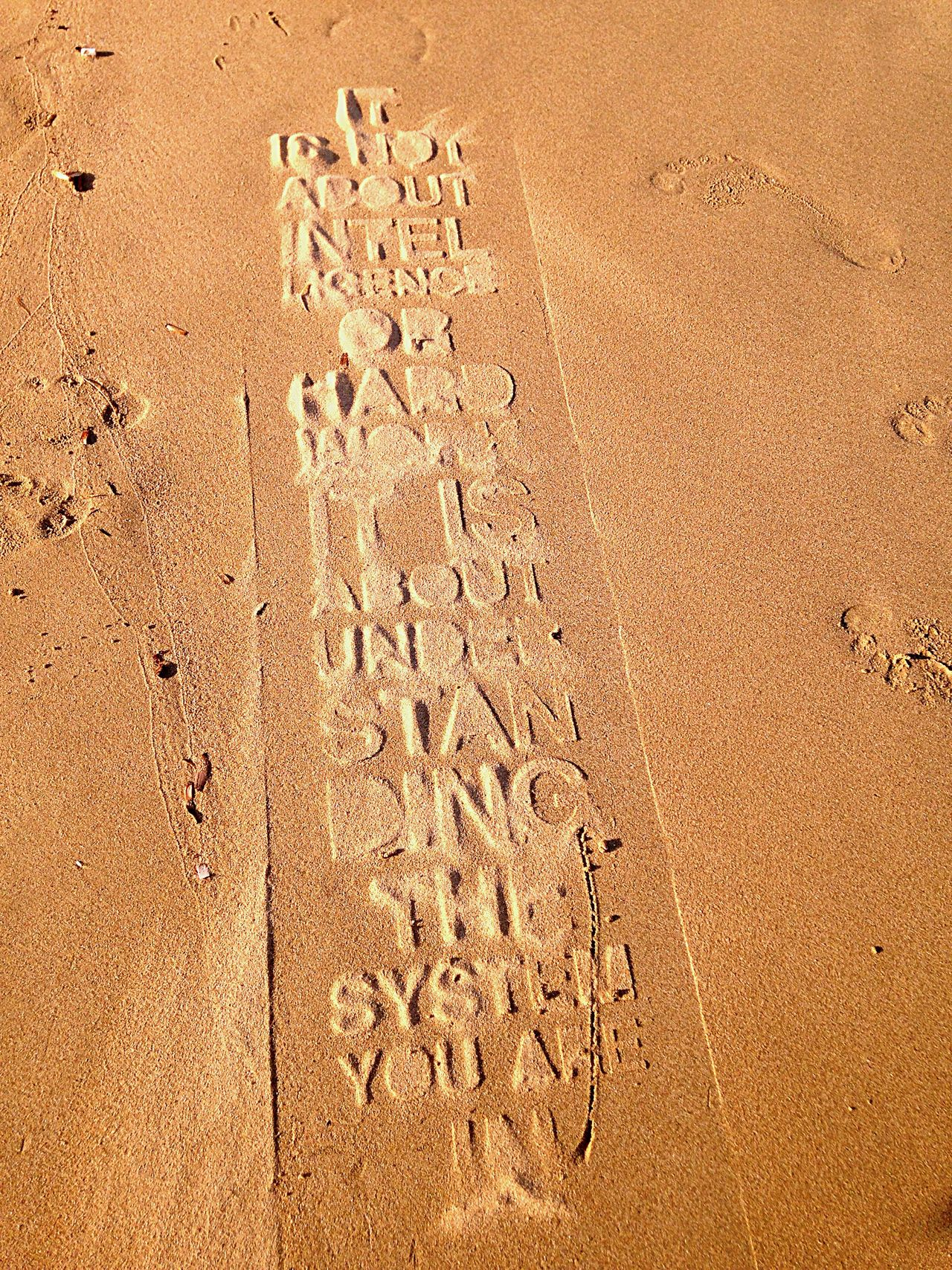 Message To The World Nature Act Nature Art Stencil Stencil On Sand Freedom Summer 2016 Cyclades Greece