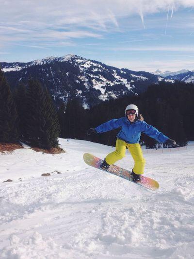 Snowboarding Slopestyle