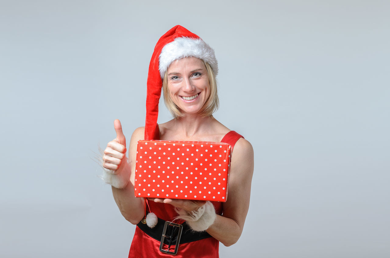 Beautiful stock photos of santa claus,  40-44 Years,  Blond Hair,  Caucasian Ethnicity,  Christmas