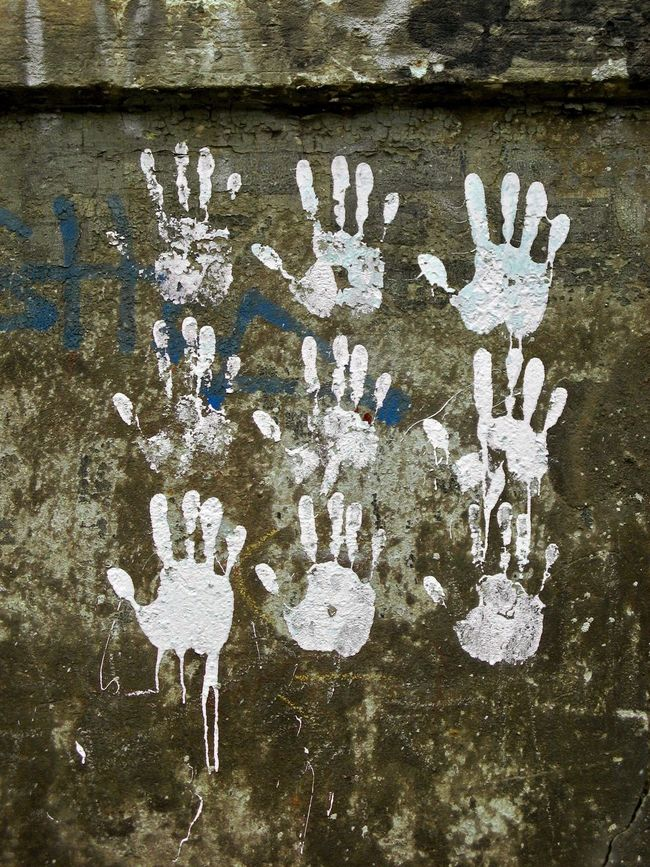 You & You Muster Mix Communication Handprint Close-up Abstract Streetart StreetArtEverywhere Lines, Colors & Textures Film Fine Art Still Life In A Row Things Organized Neatly Rows Of Things EyeEm Best Shots EyeEm Masterclass Art ArtWork Art, Drawing, Creativity Textures And Surfaces Backgrounds Fantasy Dreaming Flyfish Album Hands