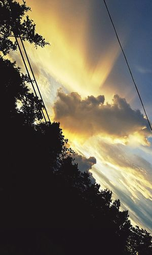 Sunset Sunlight And Shadow Sunlight Through Trees Sunlight Through Clouds Sunset And Clouds  Sunset_collection