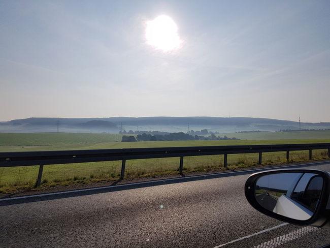 Road Landscape Erzgebirge