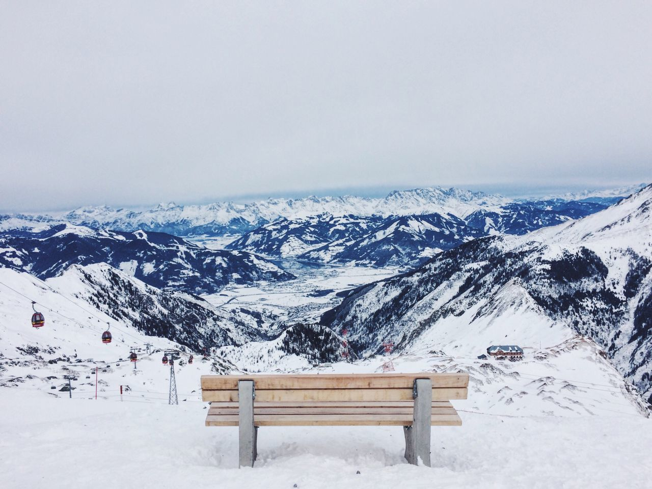 Bench View From Above View From The Top Mountains Mountaintop Alps EyeEm Nature Lover EyeEm Best Shots EyeEm Gallery Snow Cold Days Original Experiences Austria End Of The World Topview 3000m 3000 Metres Winter Wintertime Alpen Loneliness Lonelyplanet High Top View Mountain Hiking