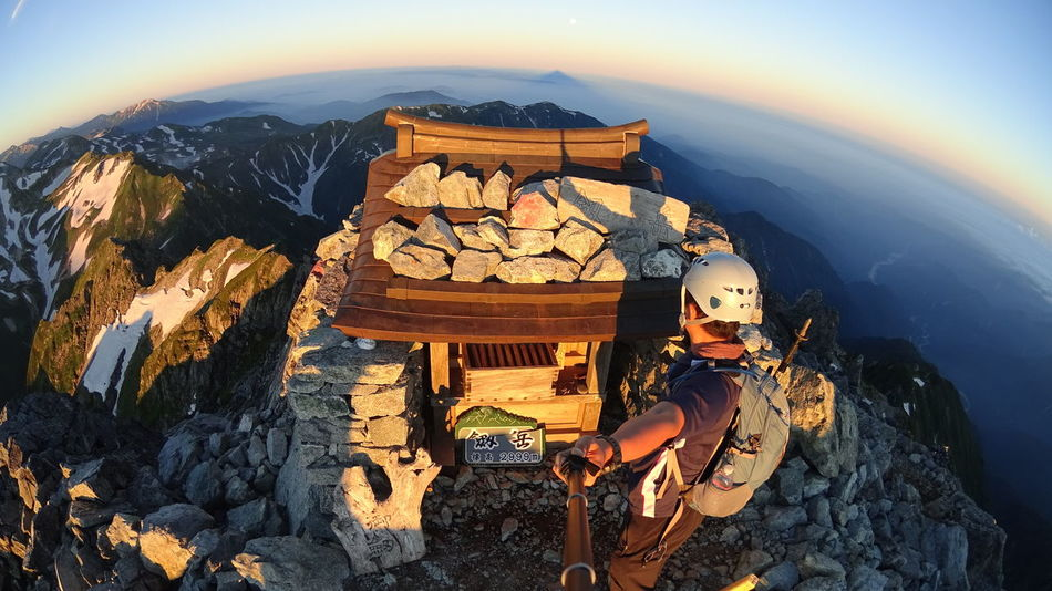 Mt.Tsurugi Mauntain Japan Nature Sony HDR-AS100V Hello World Mountains Exploring