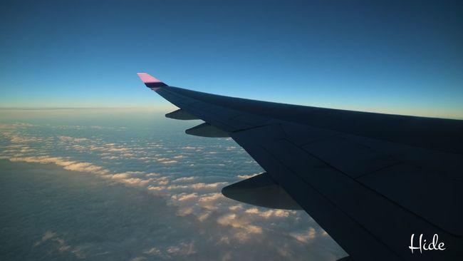空 空と雲 飛行機 翼 雲 Sky Sky And Clouds Airplane Wing
