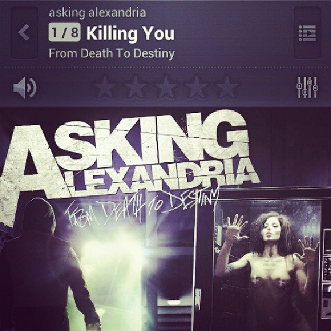 Alguien ya se pirateo el nuevo álbum de @askingalexandriaofficial Fromdeathtodestiny