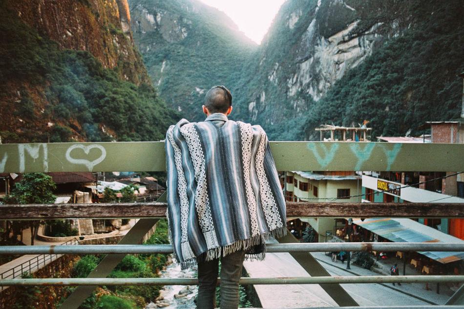 The Following Aguas Calientes Macchu Pichu Peru